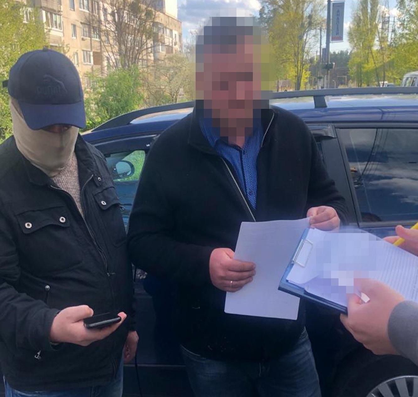 СБУ затримала голову ОТГ на Київщині, який влаштував нелегальний земельний